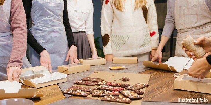 Čokoládový workshop pro rodiče s dětmi: degustace i vlastnoruční výroba