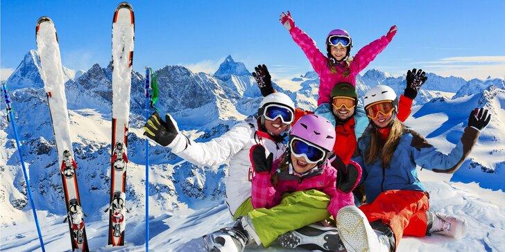Jednodenní lyžování v oblíbené rakouské oblasti Zell am See / Kaprun