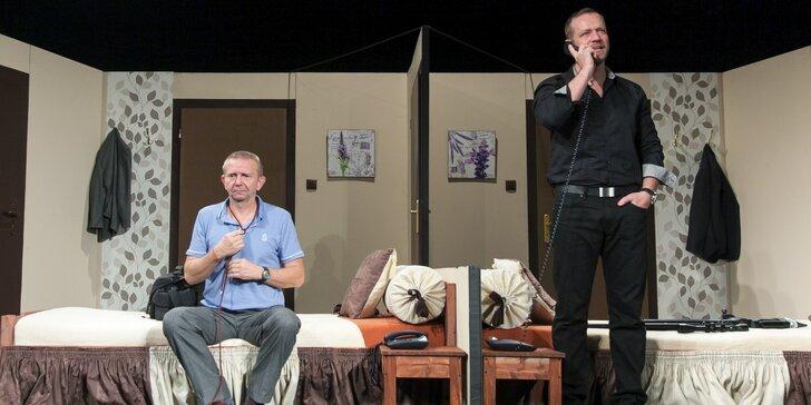 Divadelní komedie Chlap na zabití s Filipem Blažkem a Miroslavem Vladykou