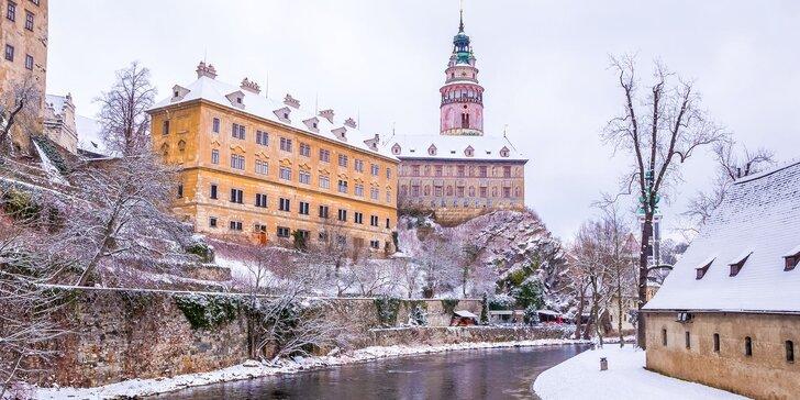 Pobyt v centru Českého Krumlova až pro 5 osob: snídaně i vstupy do muzea a bludiště