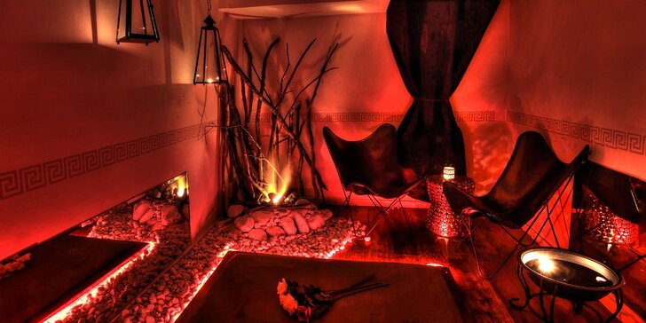Nechte se unést: ohnivá nebo vodní 5D tantra masáž pro 1 osobu na 90 minut