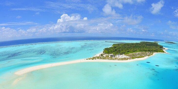 Exotický 4* resort na Maledivách: 6–12 nocí, plná penze, bazén, 1 dítě zdarma
