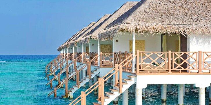 4* resort s lázněmi na Maledivách: 6–12 nocí, all inclusive, sladkovodní jezírko