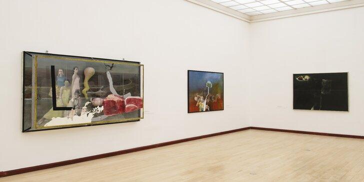 Vstupné do 5 výstavních prostor Galerie hlavního města Prahy