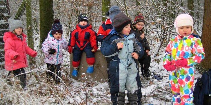Dvoudenní zimní příměstský tábor se spoustou soutěží a her