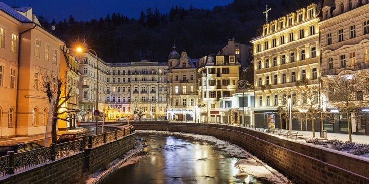 Užijte si Karlovy Vary i s lázeňskými procedurami. 3 až 7 dní v Hotelu Mignon****