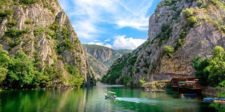 Poznejte Severní Makedonii: zájezd na 4 noci s polopenzí a průvodcem