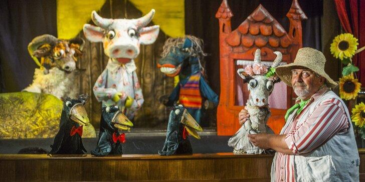 Divadlo Říše Loutek uvádí loutkové představení Pohádka o potrhlé koze Róze
