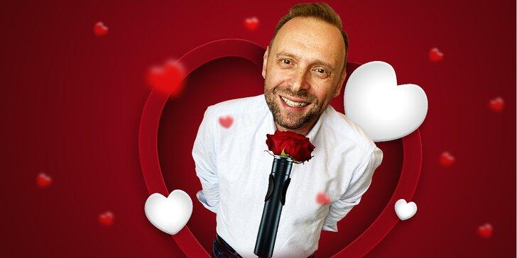 Vstupenky na stand-up Miloše Knora: Valentine show aneb láska je k***a