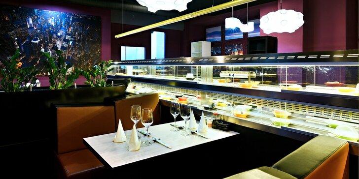 Running sushi v restauraci na I. P. Pavlova: 2 hod. hodování pro děti i dospělé