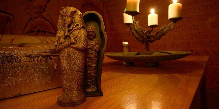 Úniková hra pro děti Ztracená mumie: Dobrodružství v egyptské hrobce