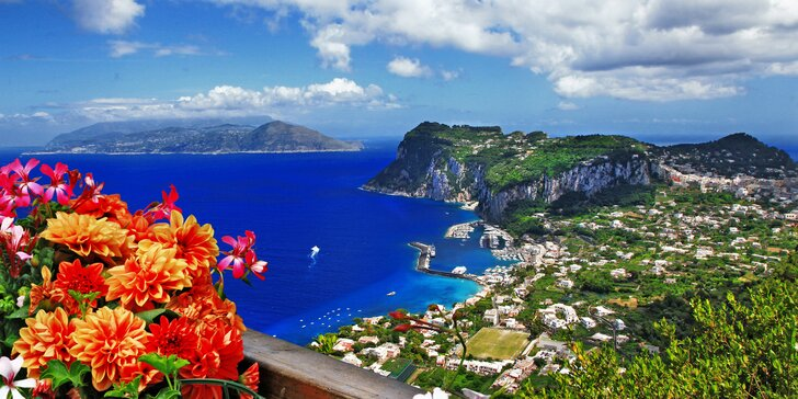 Poznávací okruh jihem Itálie s ubytováním a snídaněmi: Řím, Neapol, Pompeje i Capri během 5 dní