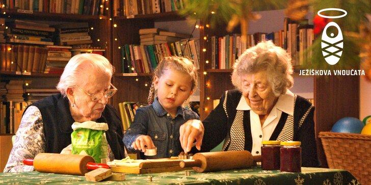 Staňte se Ježíškovým vnoučetem a pomozte splnit vánoční přání seniorů