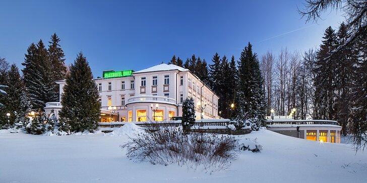 Relax ve 4* hotelu v Mariánských Lázních s polopenzí i procedurami