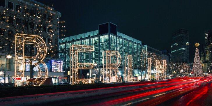 Předvánoční výlet do Berlína: prohlídka památek i adventní trhy a nákupy