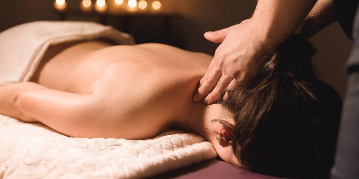 Královské uvolnění: 60minutová masáž dle vlastního výběru
