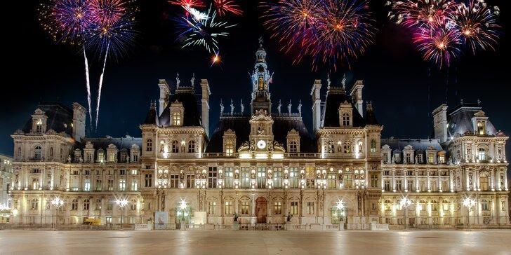 Silvestr v Paříži s návštěvou zámku Versailles a Fontainebleau na 2 noci