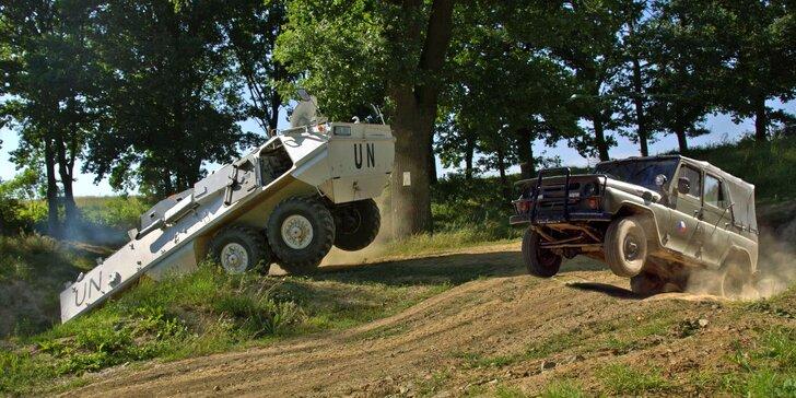 Komentovaná prohlídka vojenského muzea a jízda v obrněném transportéru