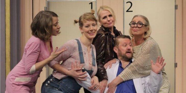Vstupenka na divadelní komedii Doktor v nesnázích v Kině Dlabačov