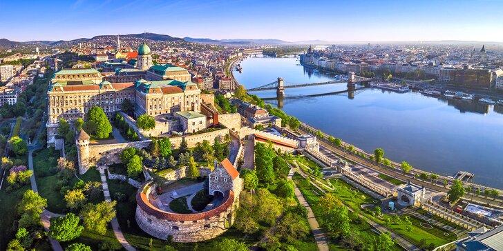 Na 3 dny do Maďarska: doprava, 2 noci v hotelu se snídaní, Budapešť i Balaton