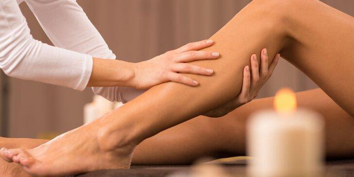 Zeštíhlující a lymfatická masáž, anticelulitidní zábal i privátní sauna