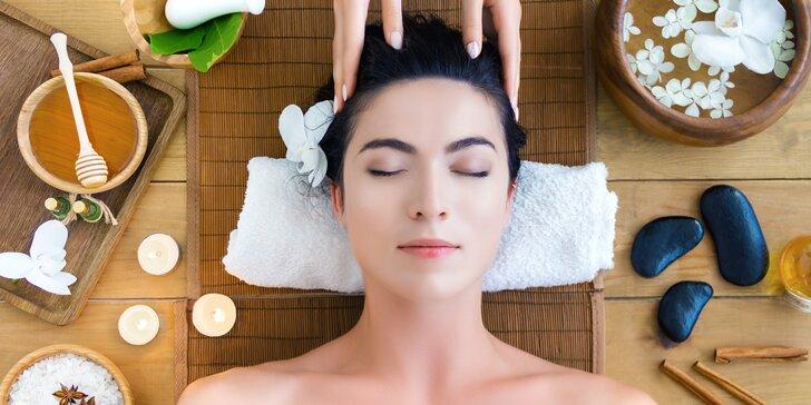 Nechte se hýčkat: masáž dle výběru, lázeň na nohy, hubnoucí zábal i pleťová maska