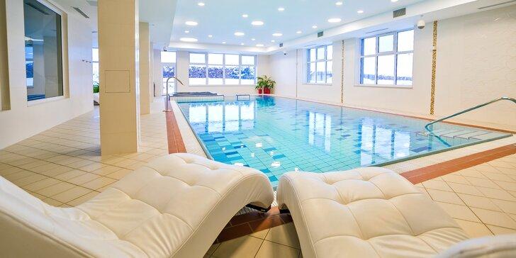 Relax v hotelu Končistá**** pod Vysokými Tatrami: wellness i polopenze