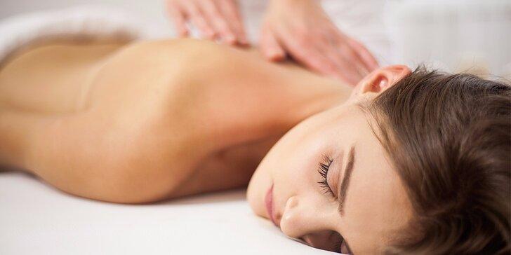60 nebo 90 minut pohody: lymfatická masáž nebo masáž vonnými oleji