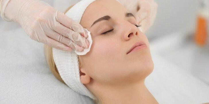 2 v 1: Speciální péče o aknózní a problematickou pleť vč. masáže ultrazvukem