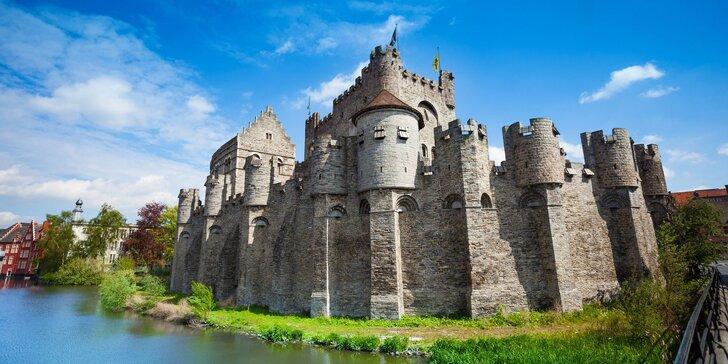3denní autobusový zájezd do belgického Gentu: katedrála, hrad, umění i pivo