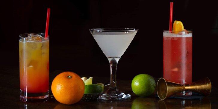 Koktejly pro všechny: 1, 2 nebo 6 originálních drinků