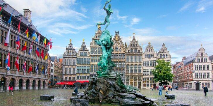 Velikonoční zájezd do Belgie: bus, 1 noc se snídaní i návštěva fialového lesa