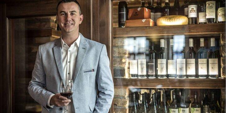 Domácí sommelier: odborný vinařský kurz spojený s degustací výběrových vín