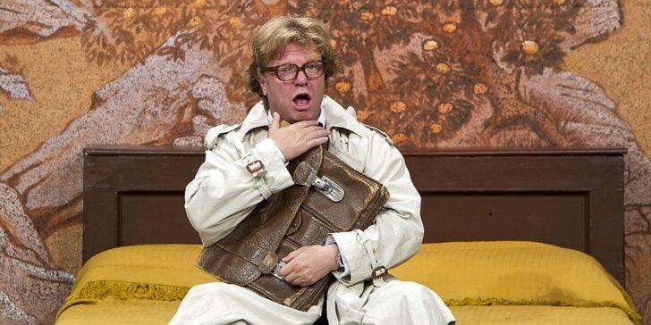 Vstupenka na divadelní hru Mandarínková izba s Marošem Kramárem