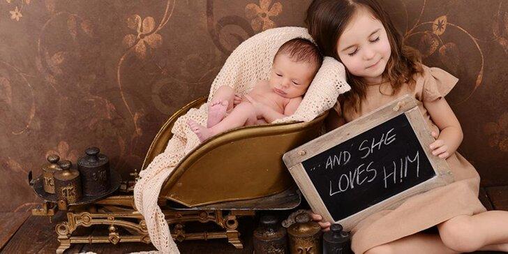 Focení s profesionální fotografkou - těhotenství, děti i rodinné foto