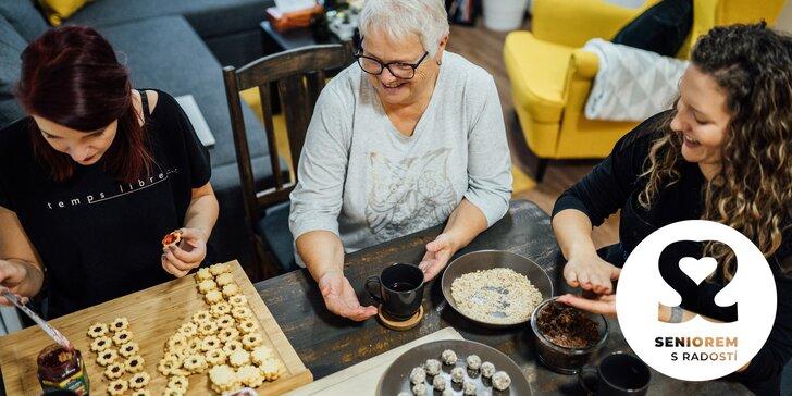 Naučte se péct vánoční cukroví a pomozte zároveň nadaci Seniorem s radostí