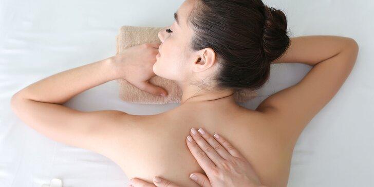 Masáže na míru dle výběru: Regenerační, Breussova, havajská či lymfatická masáž