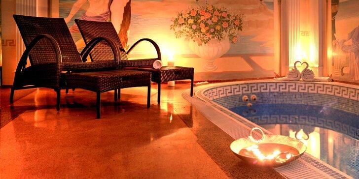 Luxusní odpočinek v privátním wellness na Vinohradech: vyhřátý bazén, vířivka, sauna i tantra masáž