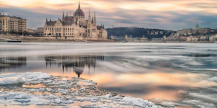 Zima i jaro v Budapešti: 4 dny nedaleko centra města