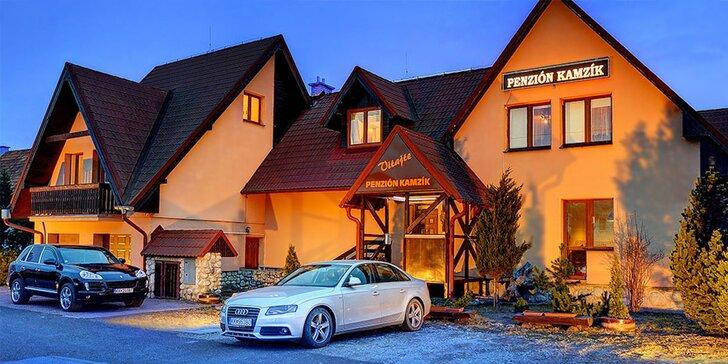 Aktivní dovolená v rodinném penzionu i s wellness pod Vysokými Tatrami