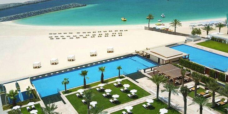 Skvělá dovolená v exotické Dubaji: 4–9 nocí v 5* hotelu u pláže s polopenzí