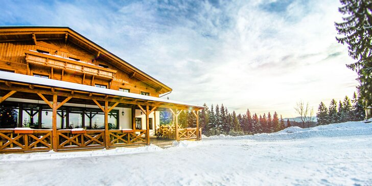 Silvestr v horském hotelu v Beskydech: polopenze, vlastní pekárna i wellness