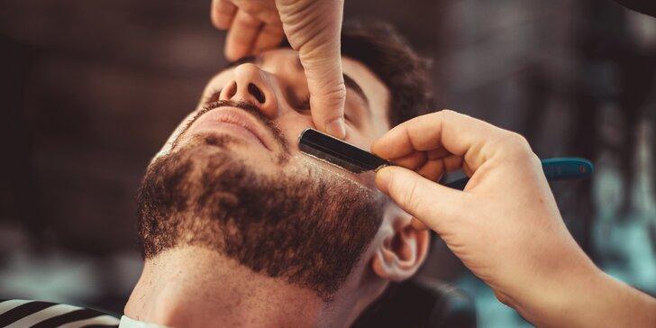 Chlapská péče v barber shopu: střih, úprava vousů, depilace voskem i styling