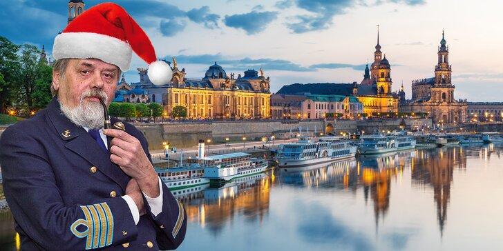 Dárková plavba do Drážďan s programem a občerstvením