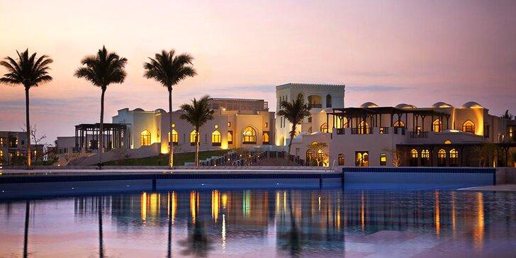 Za odpočinkem do Ománu: 5–11 nocí v 5* resortu s all inclusive a bazény