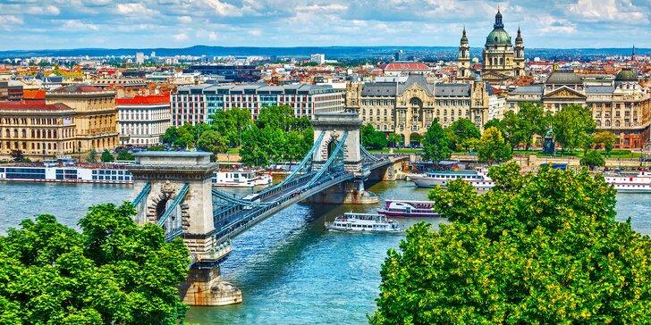 Poznávací zájezd do Budapešti s ubytováním na 1 noc vč. snídaně a průvodce