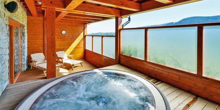 Wellness pobyt v luxusním resortu v Beskydech: snídaně, masáž i výlety