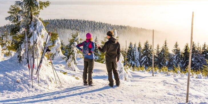 Zima na Dolní Moravě v rodinném penzionu s polopenzí