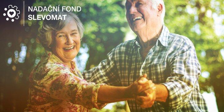Pomozte seniorům získat interaktivní stůl pro terapii i zábavu a pojďte besedovat o Velikonocích