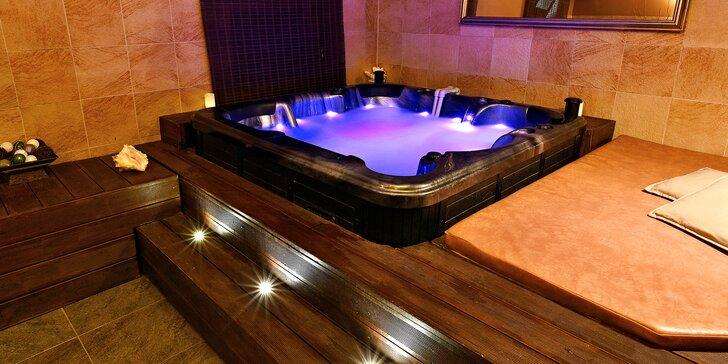 Romantika i večírek: vířivka, sauna i varianty s občerstvením pro 2 až 10 osob